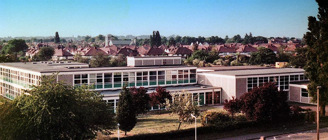 Ealing Mead County School c1976 - photo Alan Crump